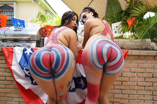 VALERIE KAY, VALENTINA JEWELS – BIG BOOTY 4TH OF JULY CELEBRATION